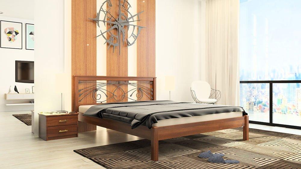 Кровать Модерн + Ковка 6