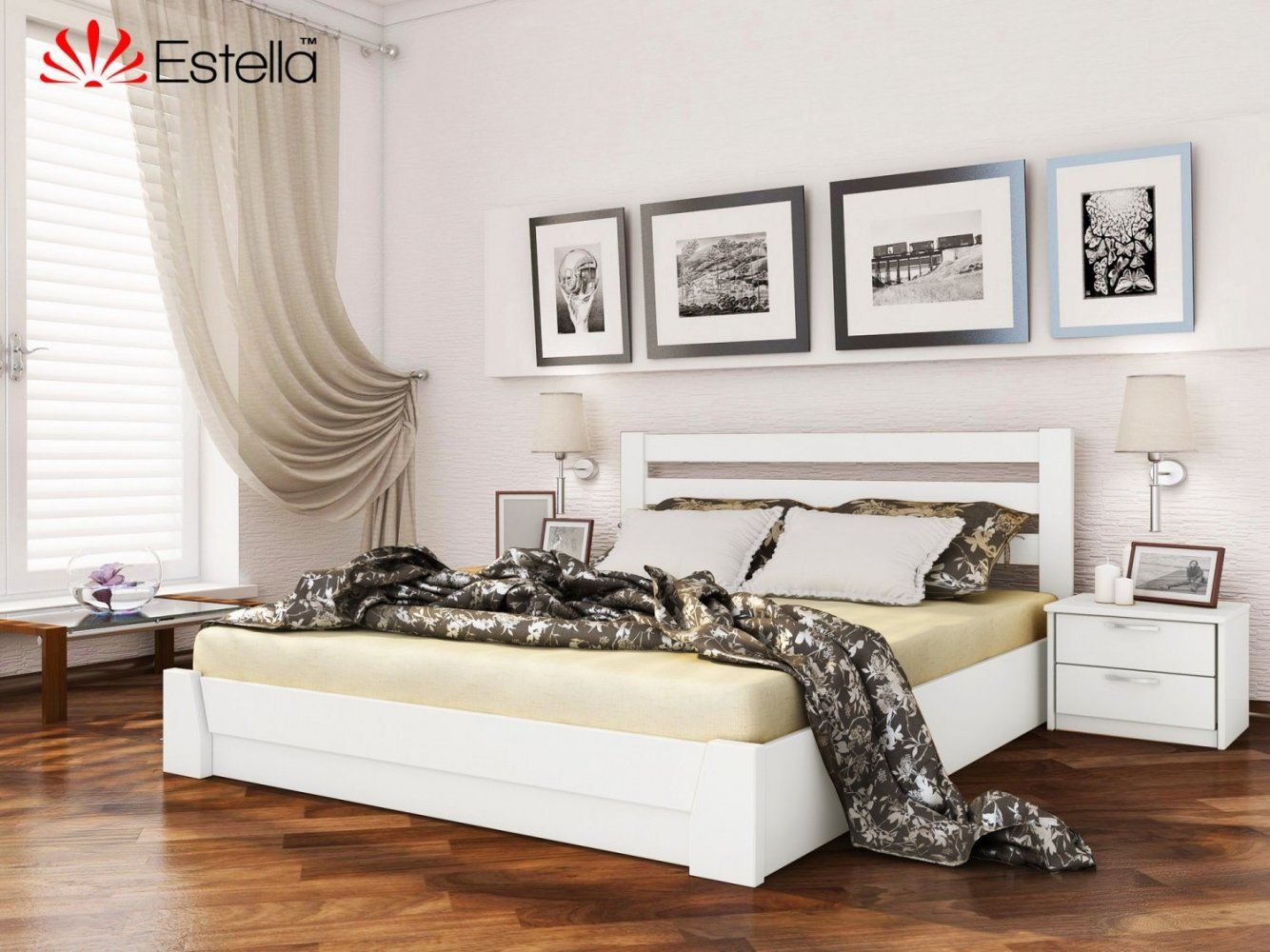 Ліжко Селена з підйомником 7