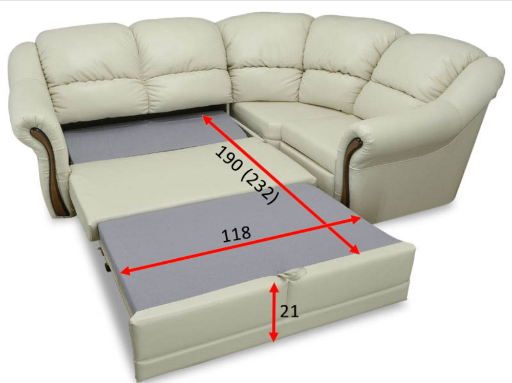 Угловой диван Редфорд 21 1