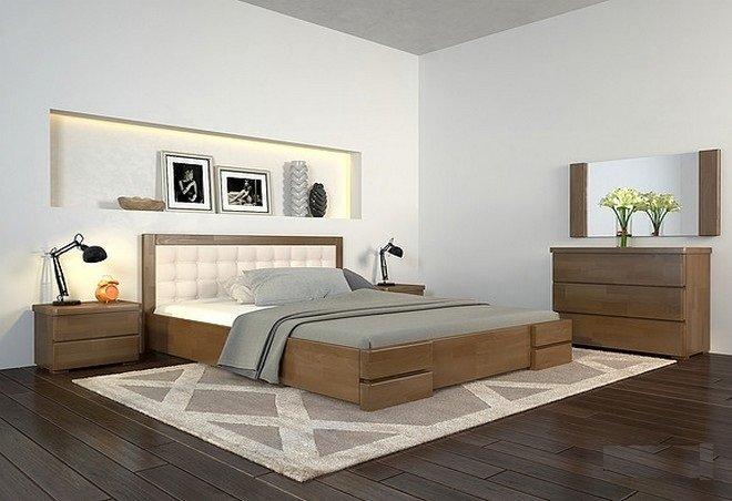 Ліжко Регіна Люкс 0