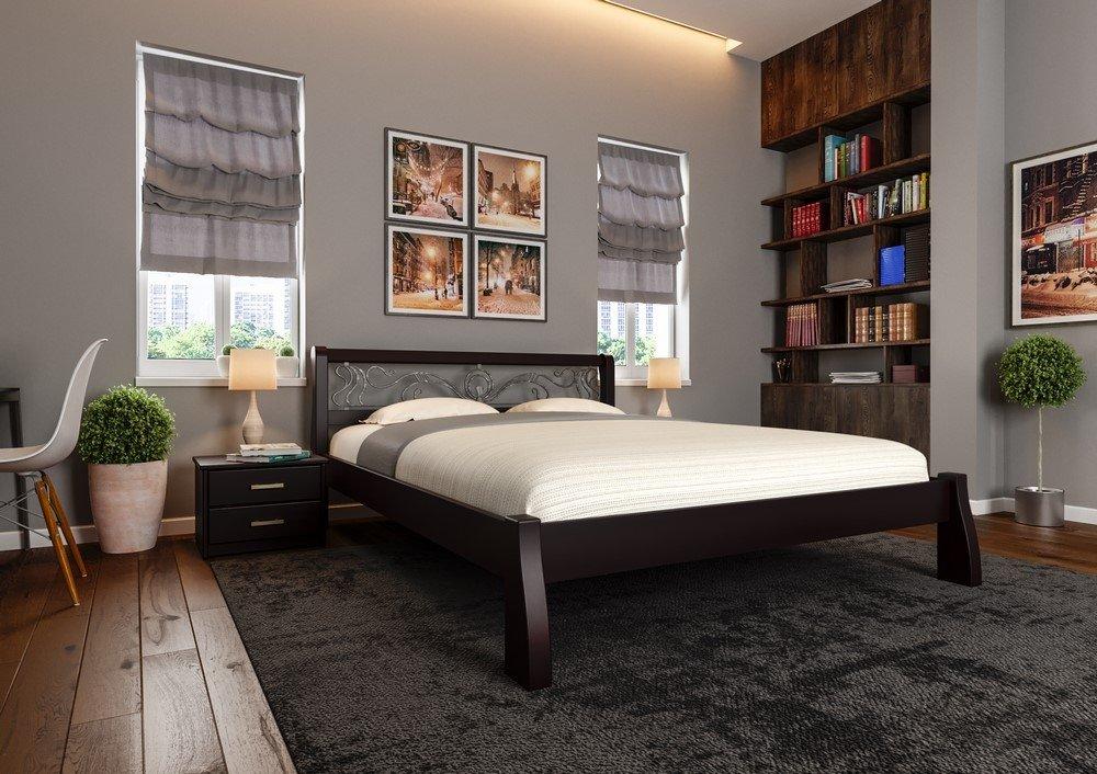 Кровать Ретро + Ковка 7
