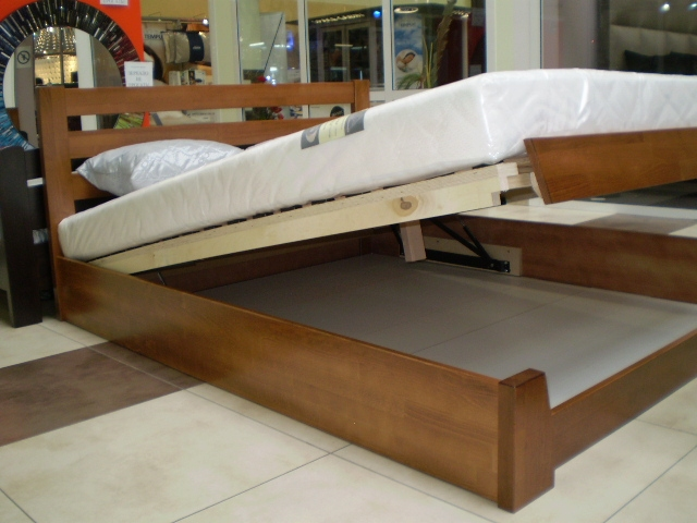 Ліжко Селена з підйомником 10