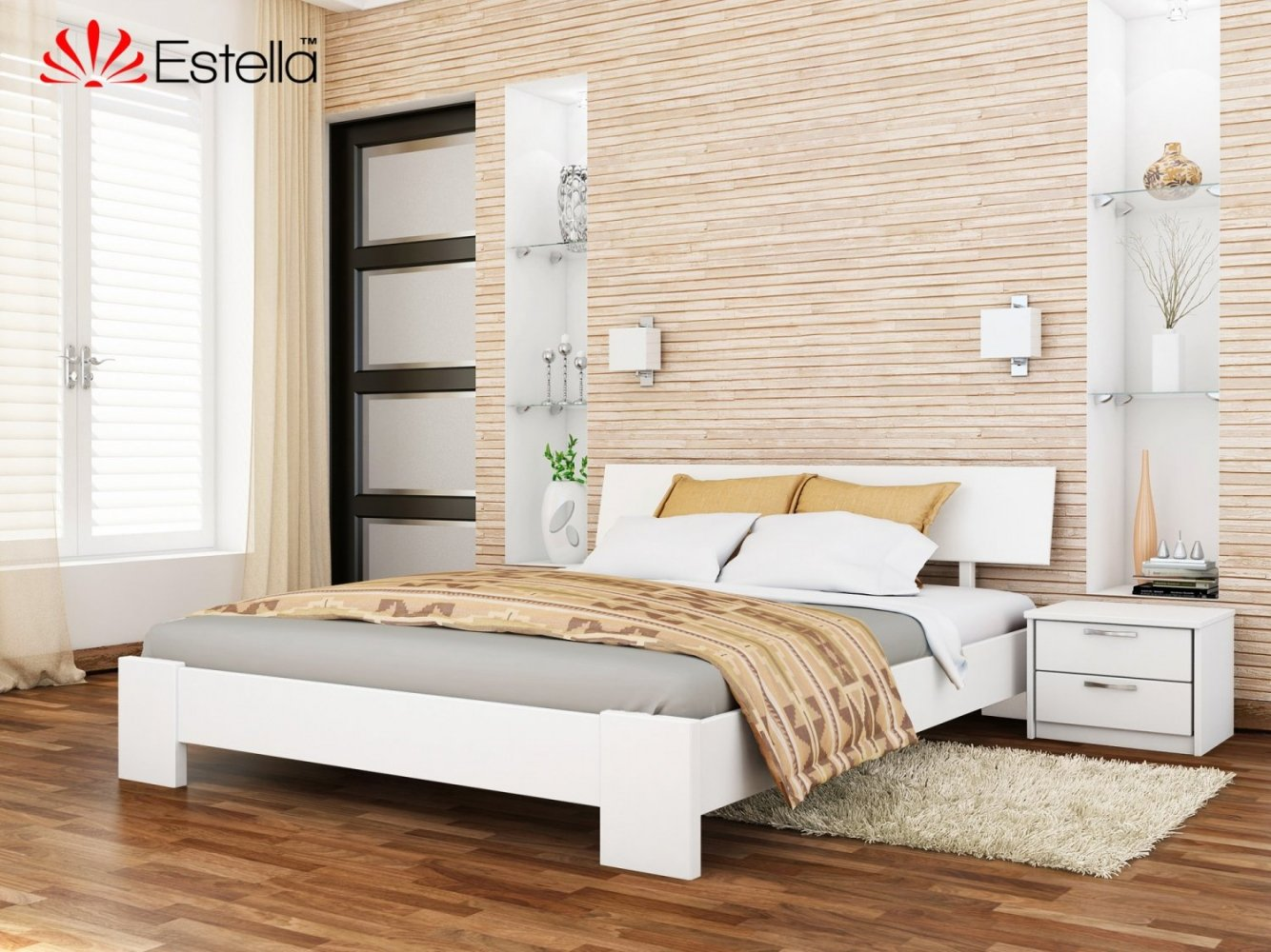 Кровать Титан / Серия Тесса 6