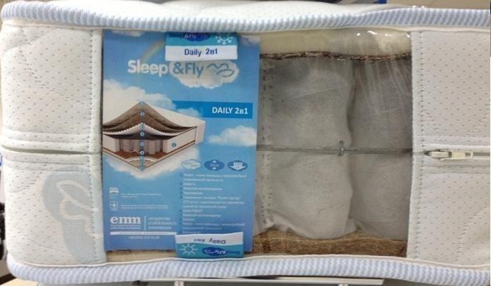 Матрац Sleep&Fly Daily 2 в 1 / Дейлі 2 в 1 5