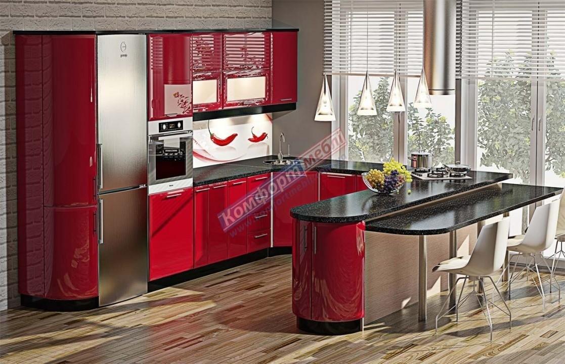 Модульна кухня Хай-тек глянець 31