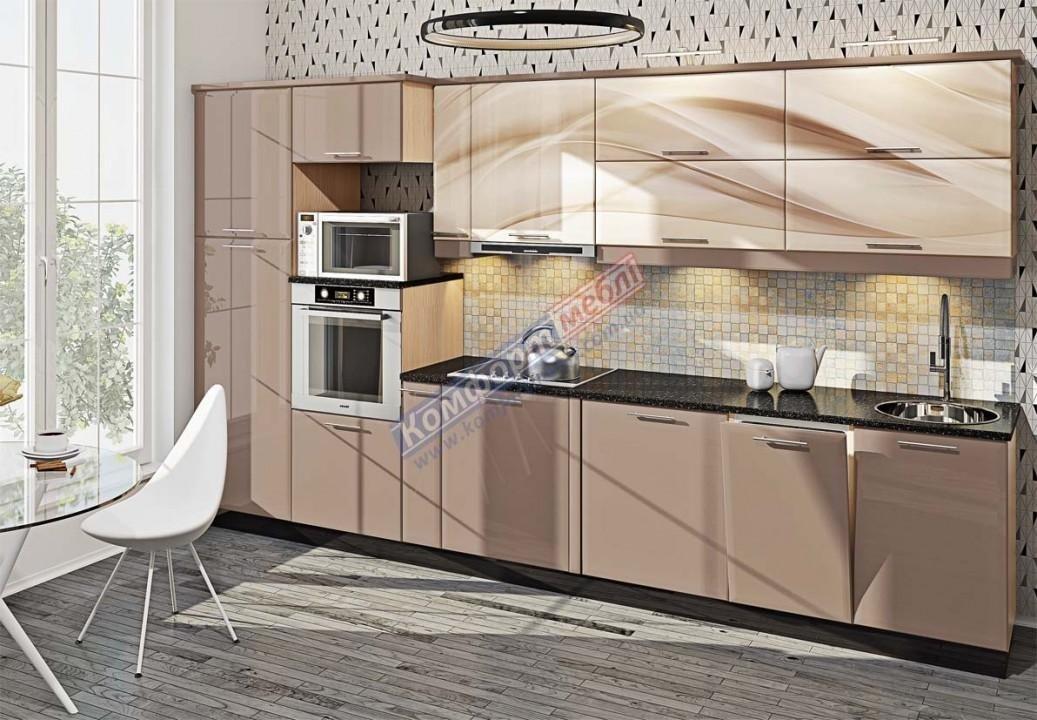Модульна кухня Хай-тек глянець 7