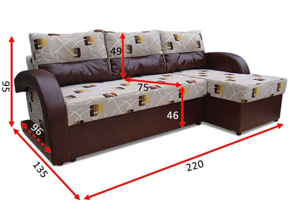 Угловой диван Респект 12