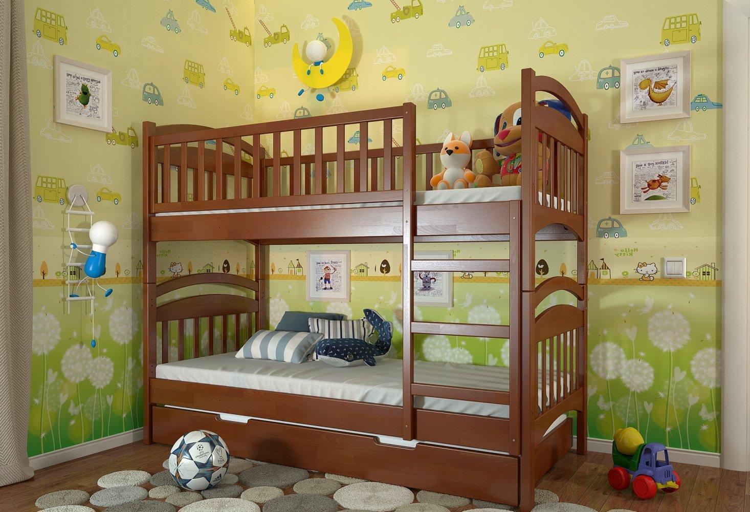 Двоярусне ліжко Смайл 5