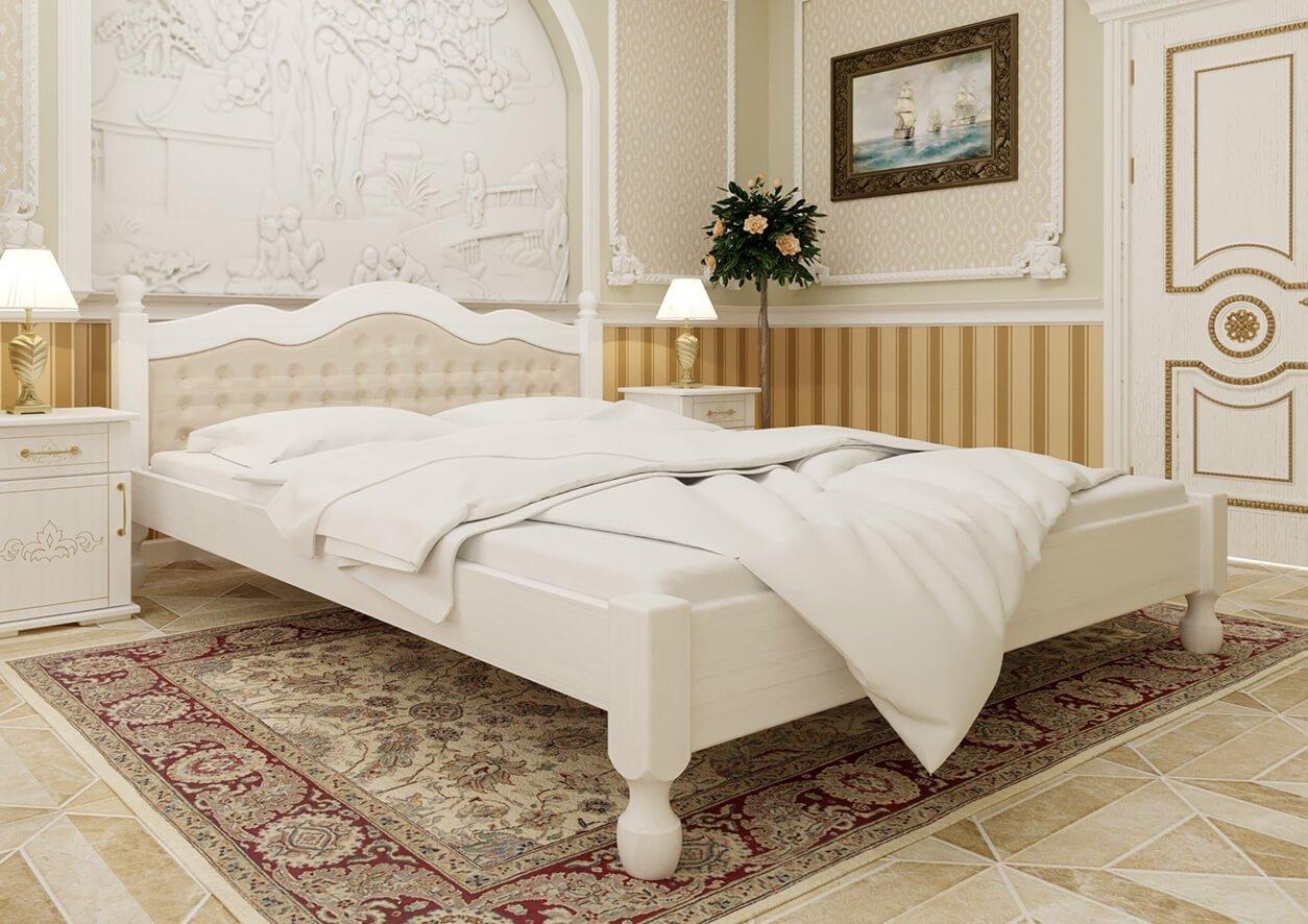 Кровать Магнолия (мягкая спинка) 0