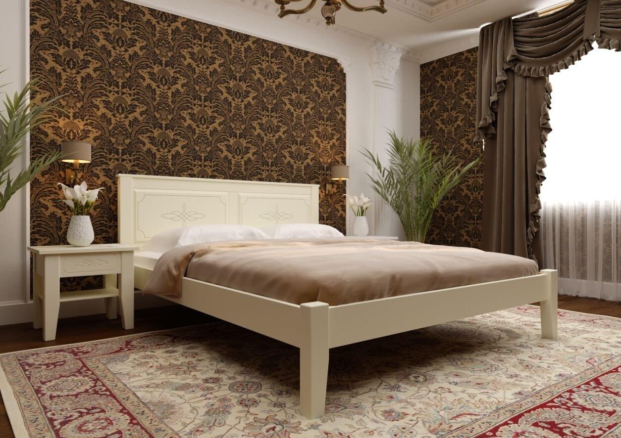 Ліжко Глорія високе ізніжжя 1