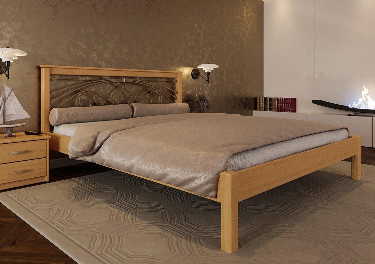 Кровать Модерн + Ковка 4