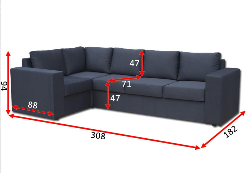 Кутовий диван Чікаго 31-В 2