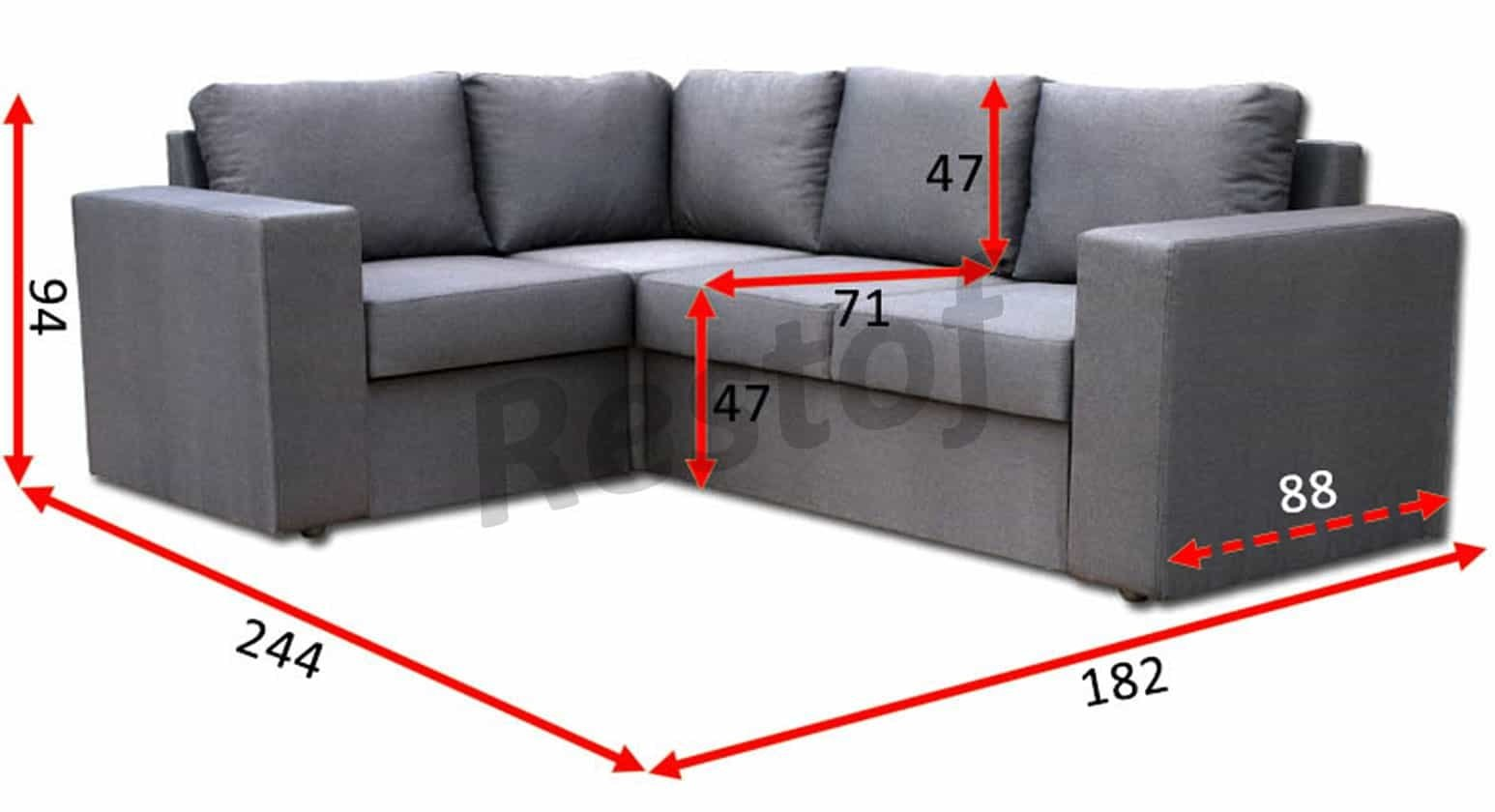 Угловой диван Чикаго 21-В 5