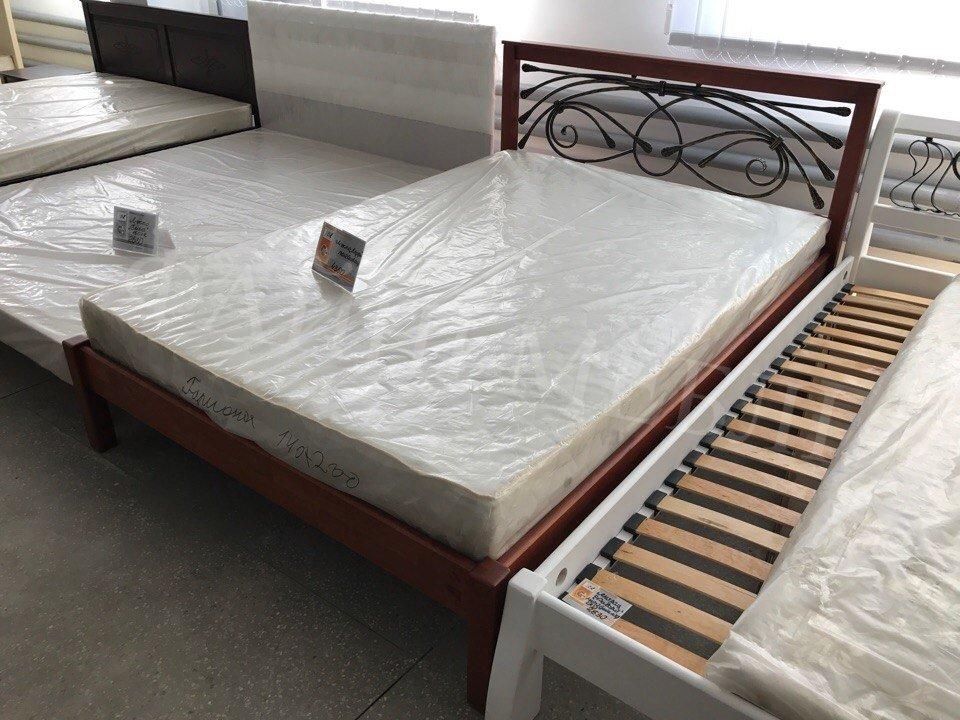 Кровать Модерн + Ковка 7