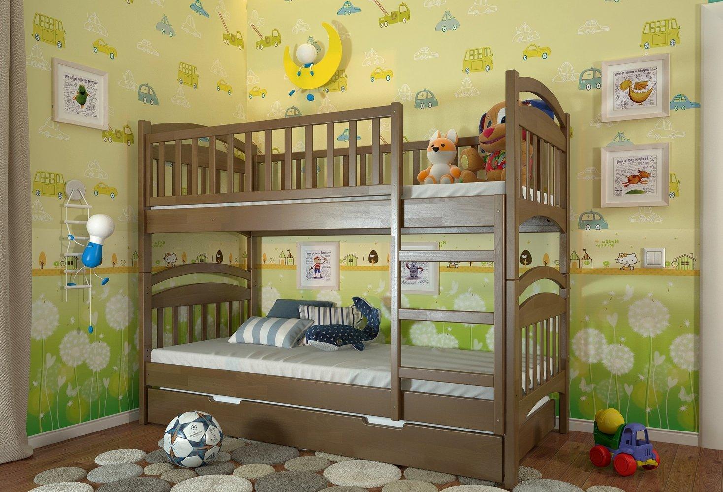 Двоярусне ліжко Смайл 3