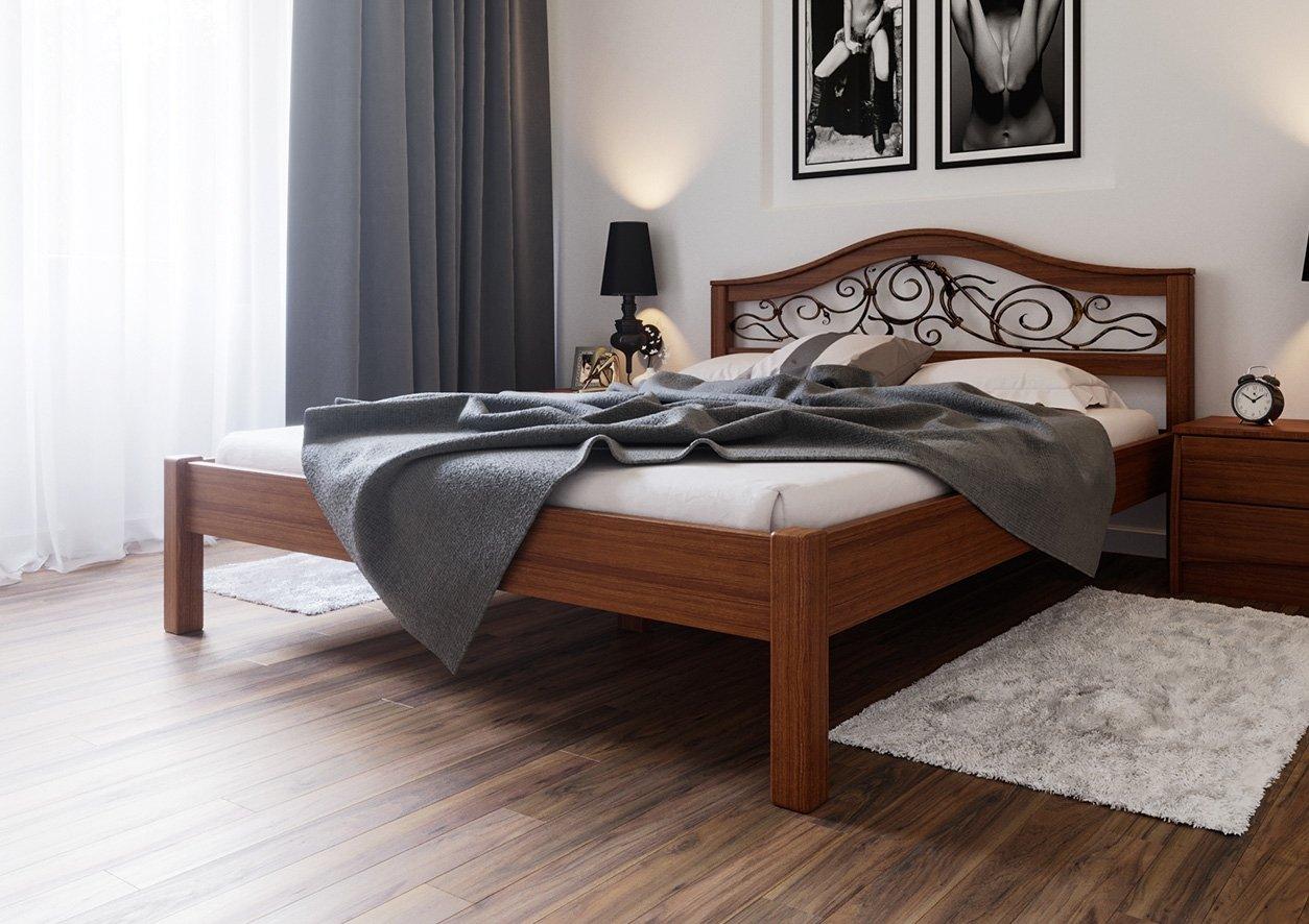 Ліжко Італія + Ковка 2