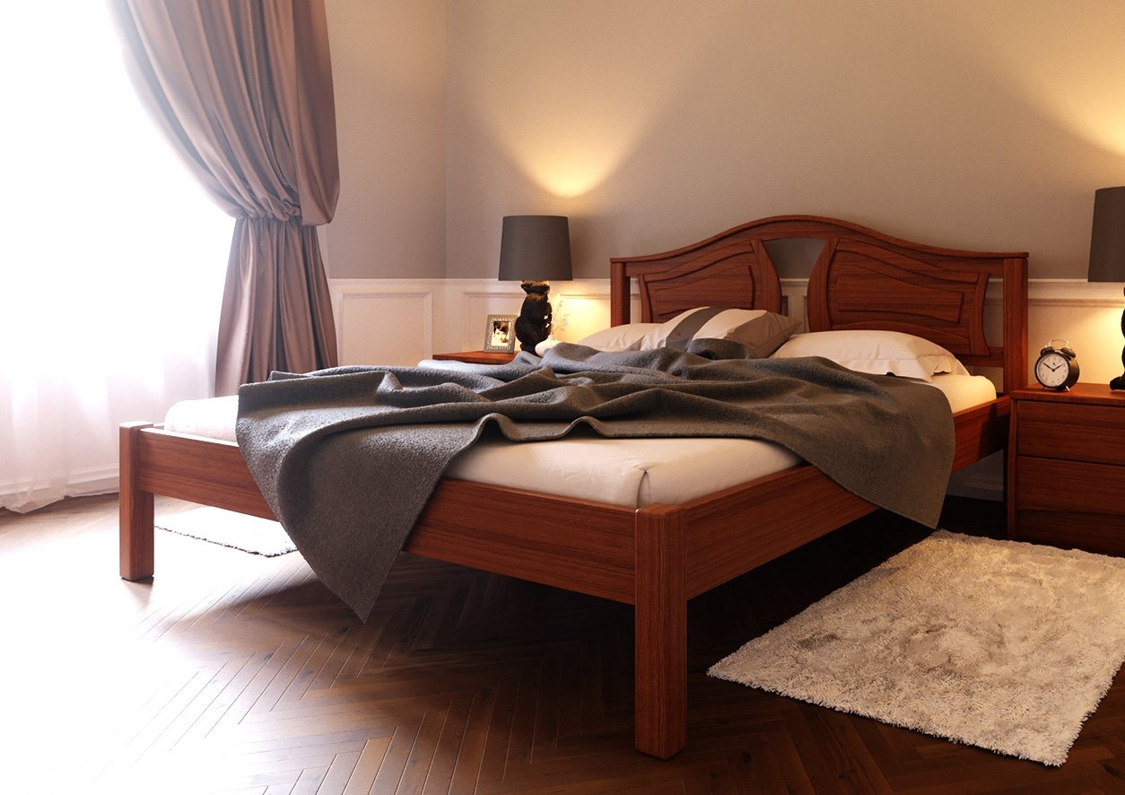 Ліжко Італія ( тверда спинка) 2