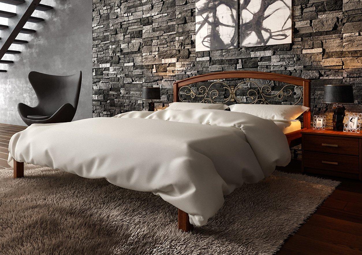 Ліжко Британія + Ковка 3