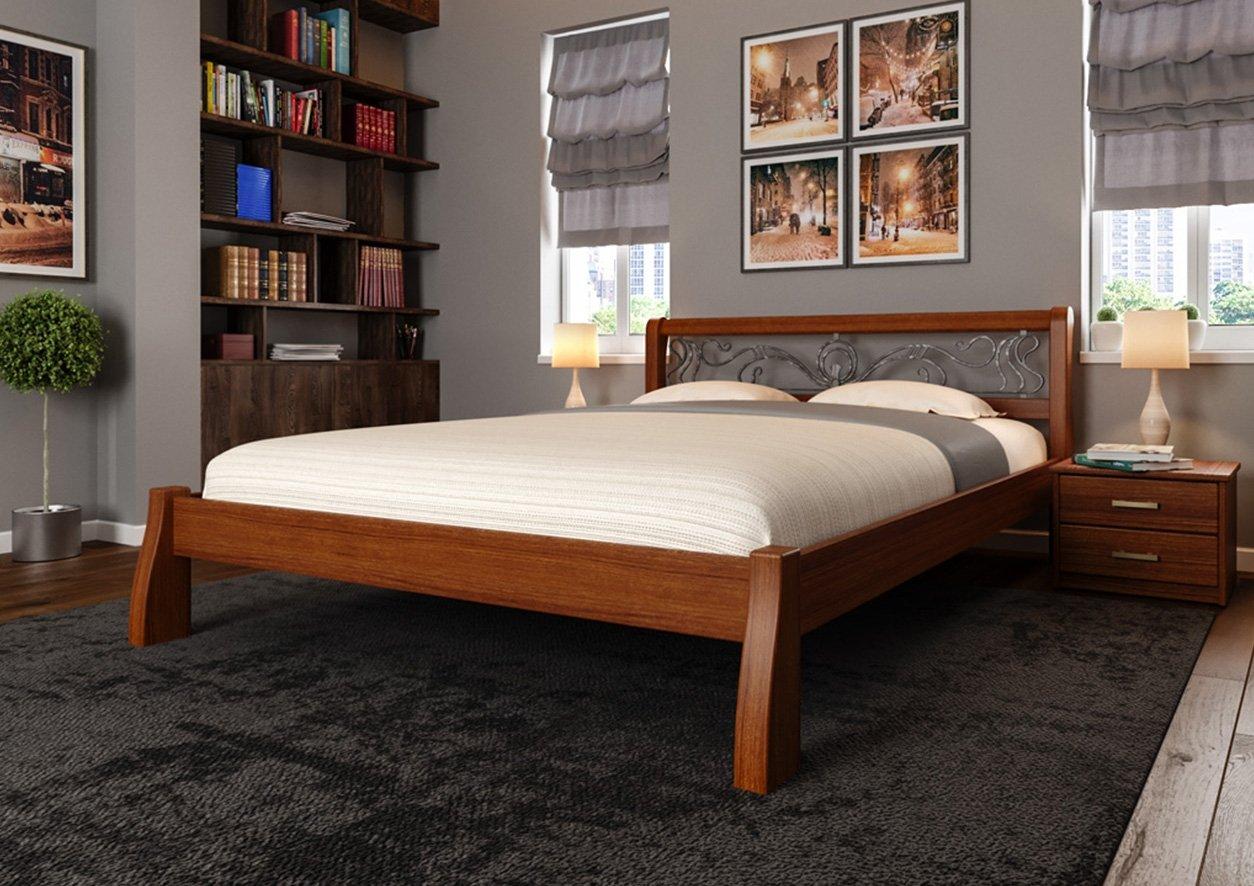 Кровать Ретро + Ковка 3