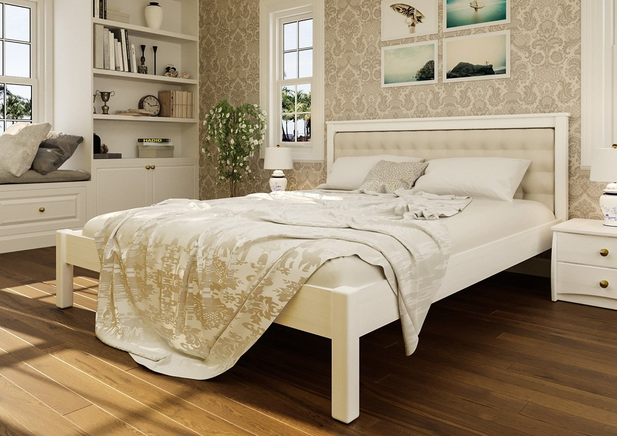 Ліжко Модерн + М'яка вставка 2
