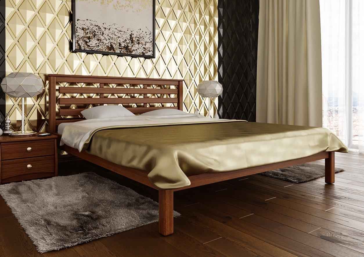 Ліжко Модерн (тверда спинка) 3