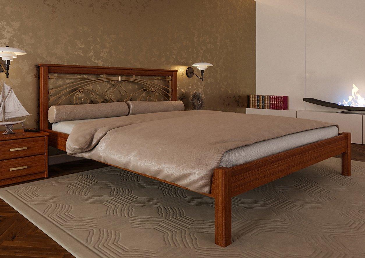 Кровать Модерн + Ковка 3