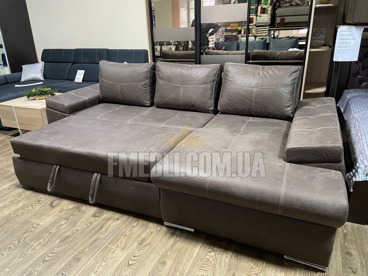 Кутовий диван Меркурій  + ВІДЕО 3