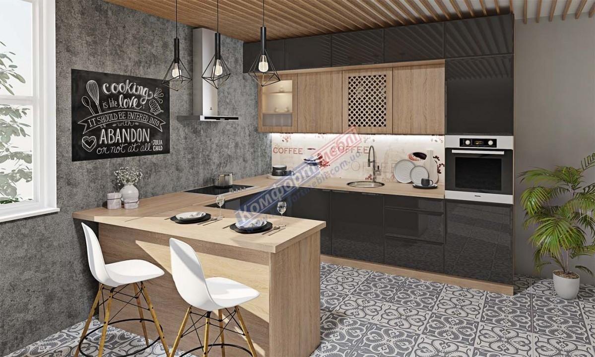 Модульна кухня Хай-тек глянець 20