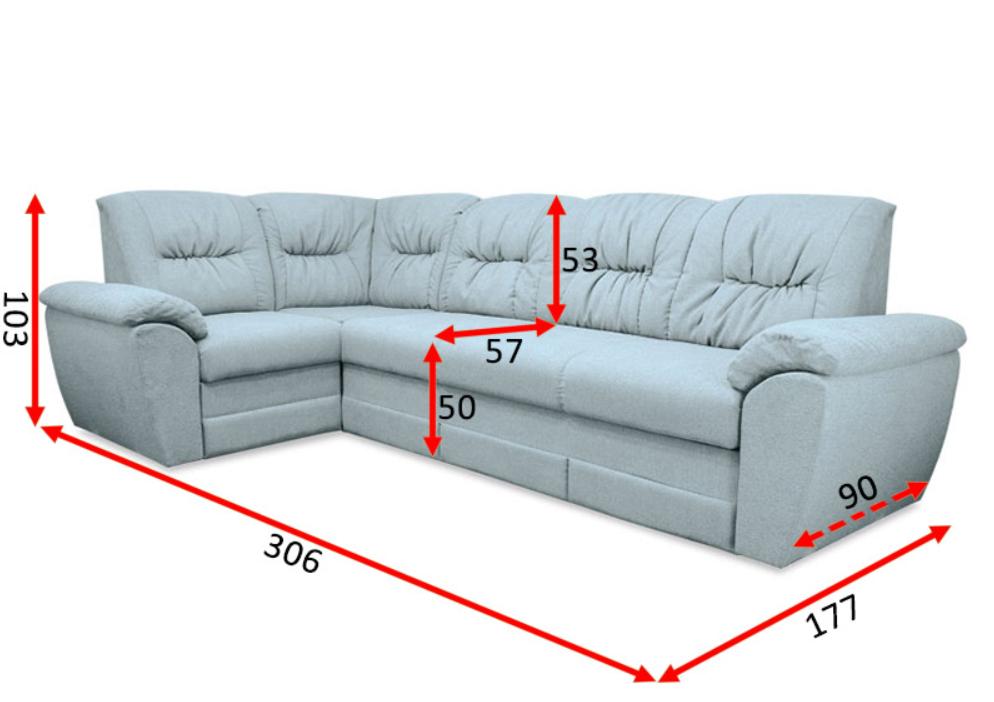 Угловой диван Бруклин В-31 3