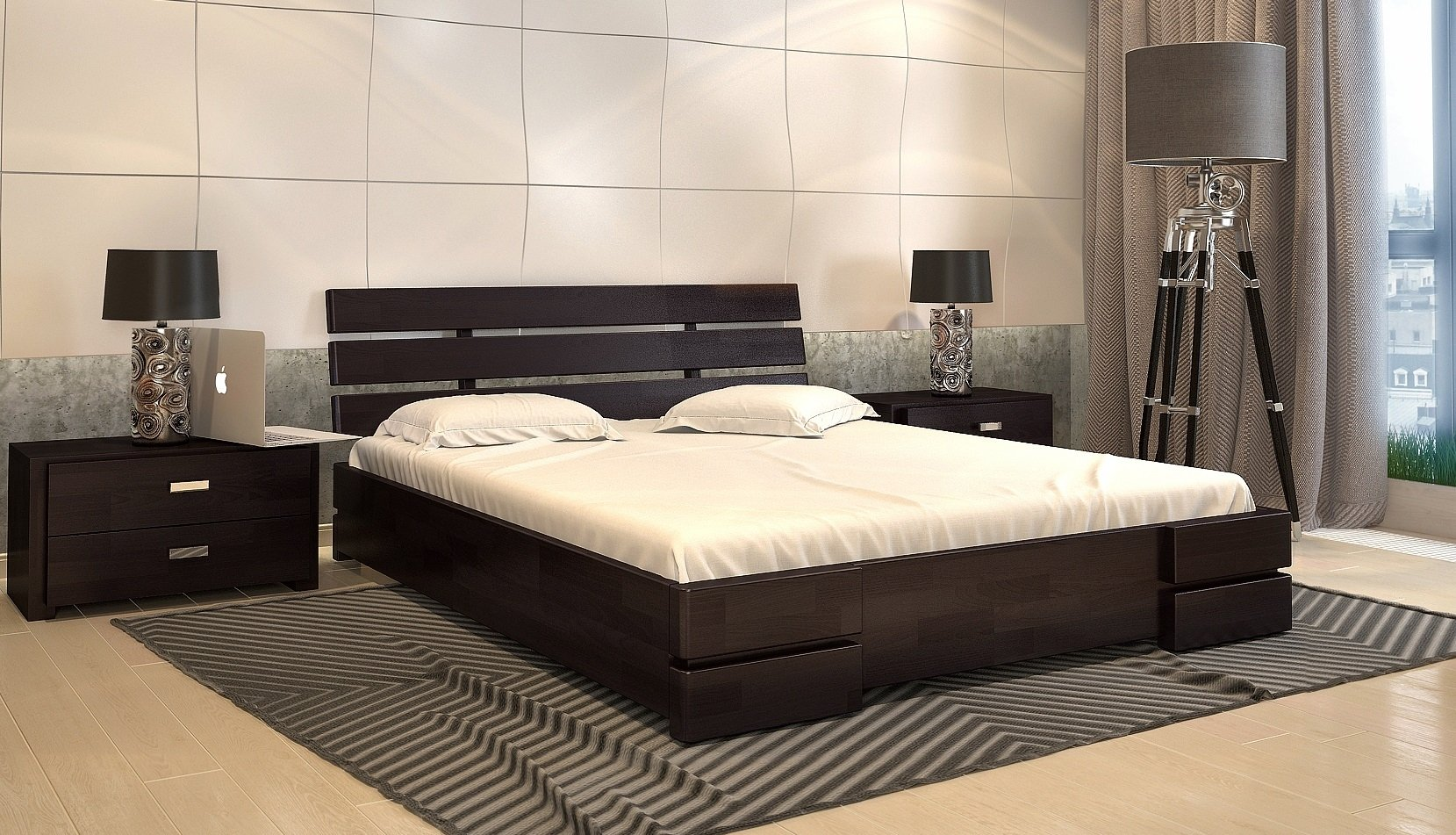 Кровать Дали Люкс з подъемным механизмом 2