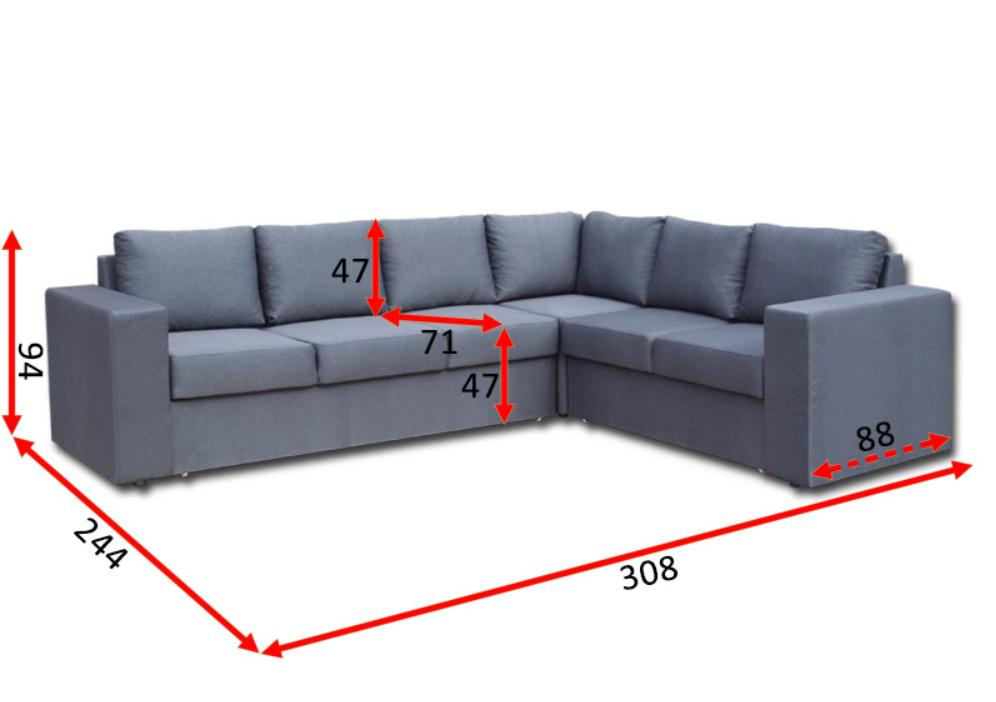 Кутовий диван Чікаго 32-В 13