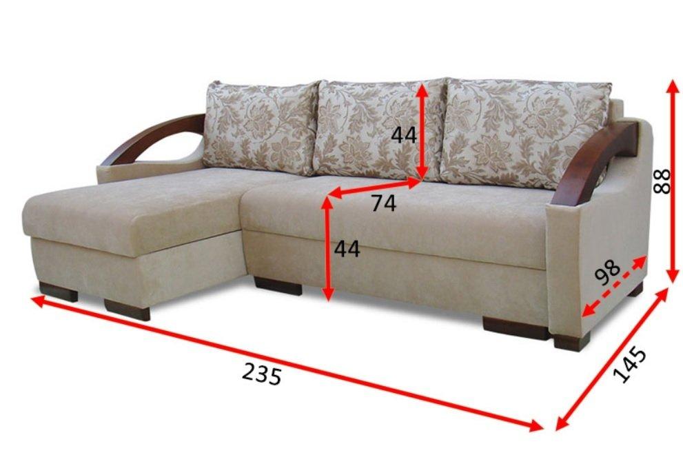 Кутовий диван Севілья 4