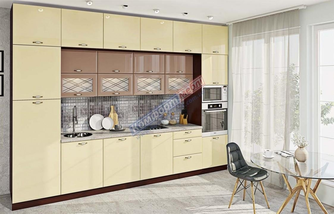 Модульна кухня Хай-тек глянець 24