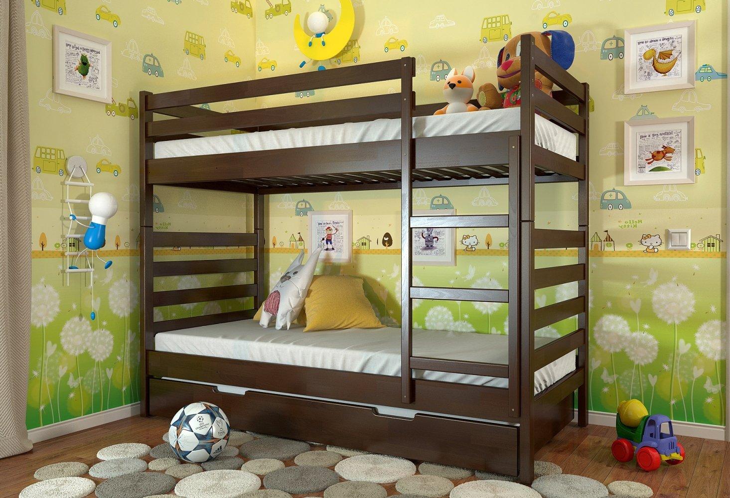 Двоярусне ліжко Ріо 4