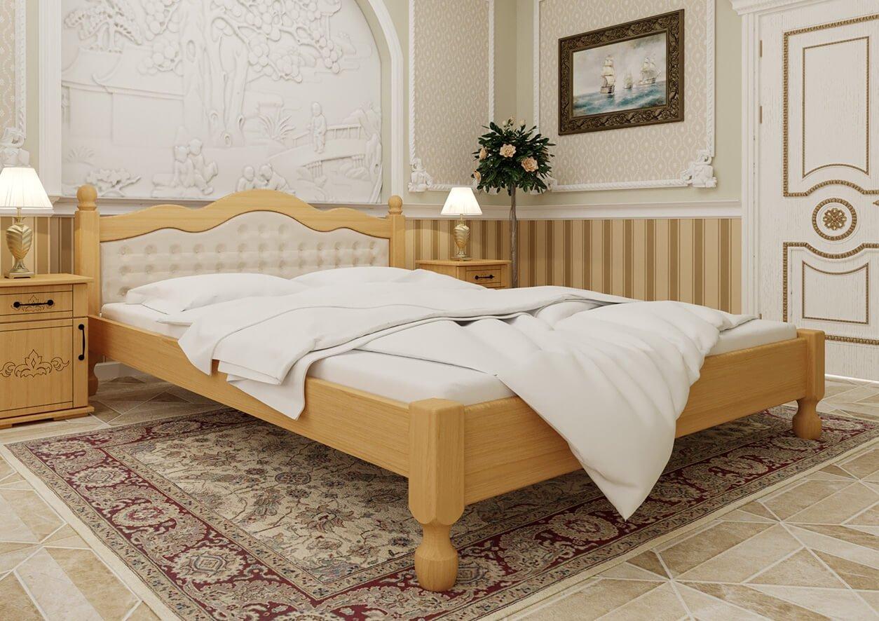 Кровать Магнолия (мягкая спинка) 3