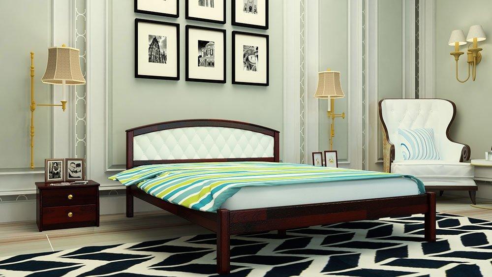 Кровать Британия + Мягкая вставка 9