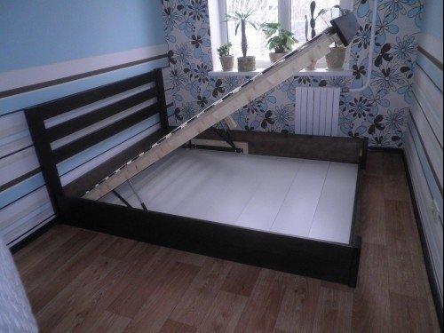 Ліжко Селена з підйомником 11