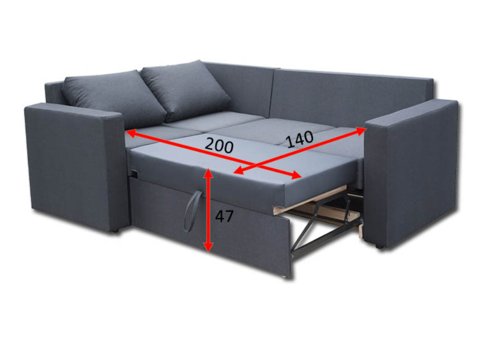 Кутовий диван Чікаго 21-А 1