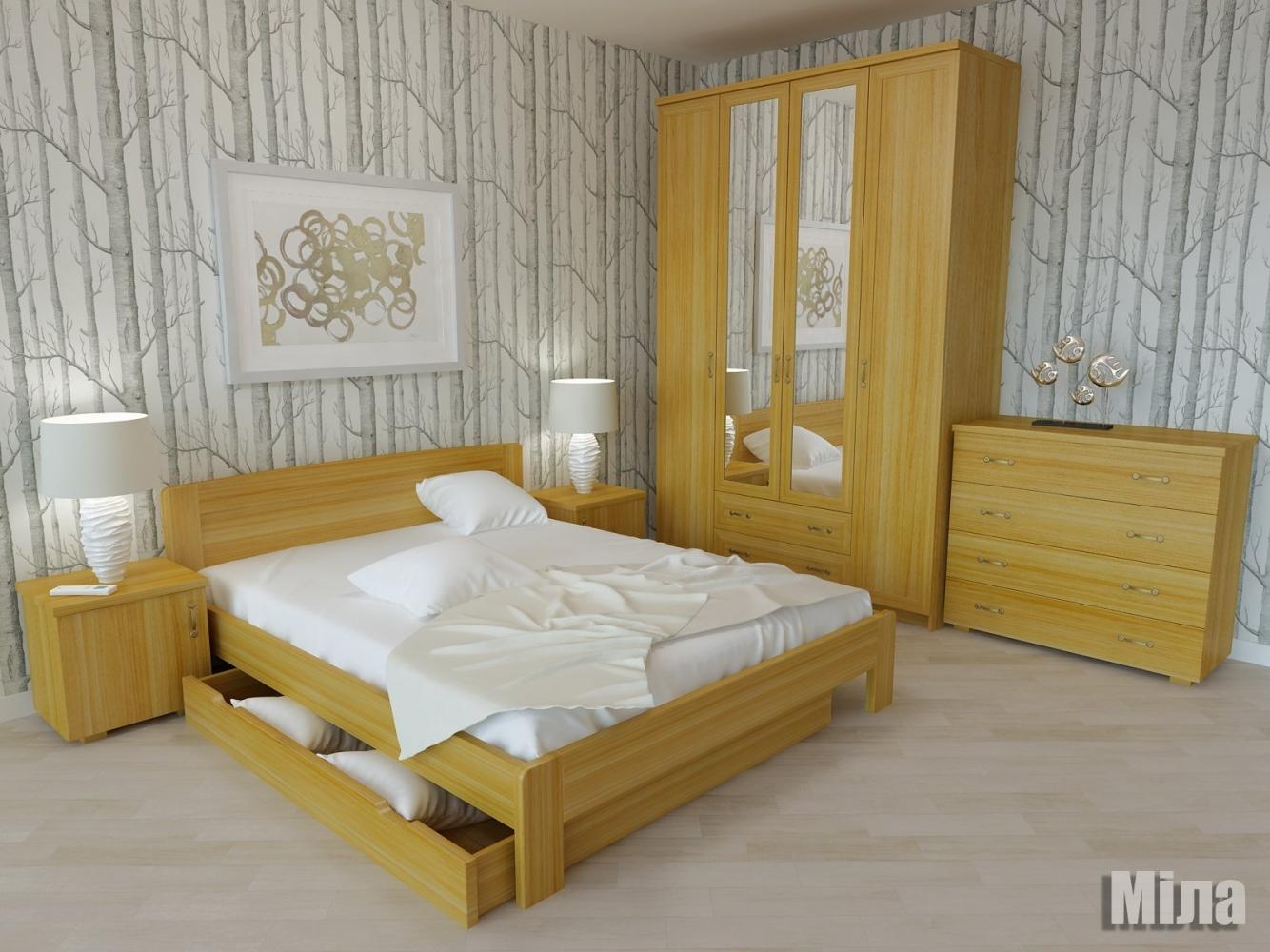 Кровать Мила 2