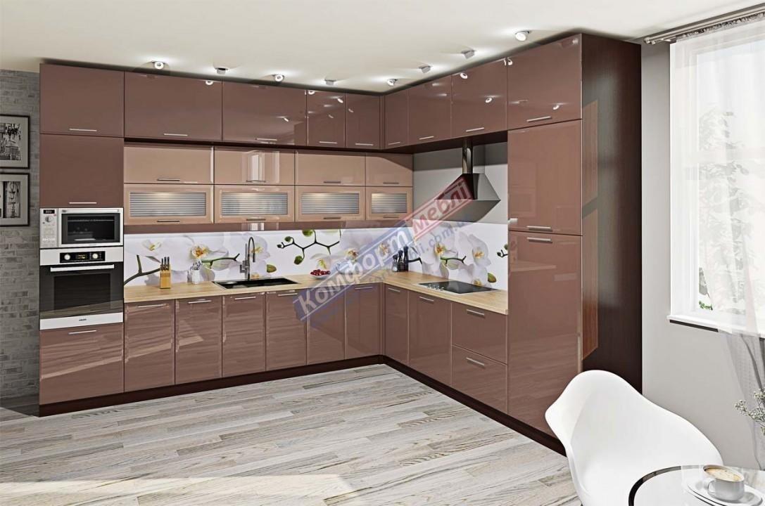 Модульна кухня Хай-тек глянець 25