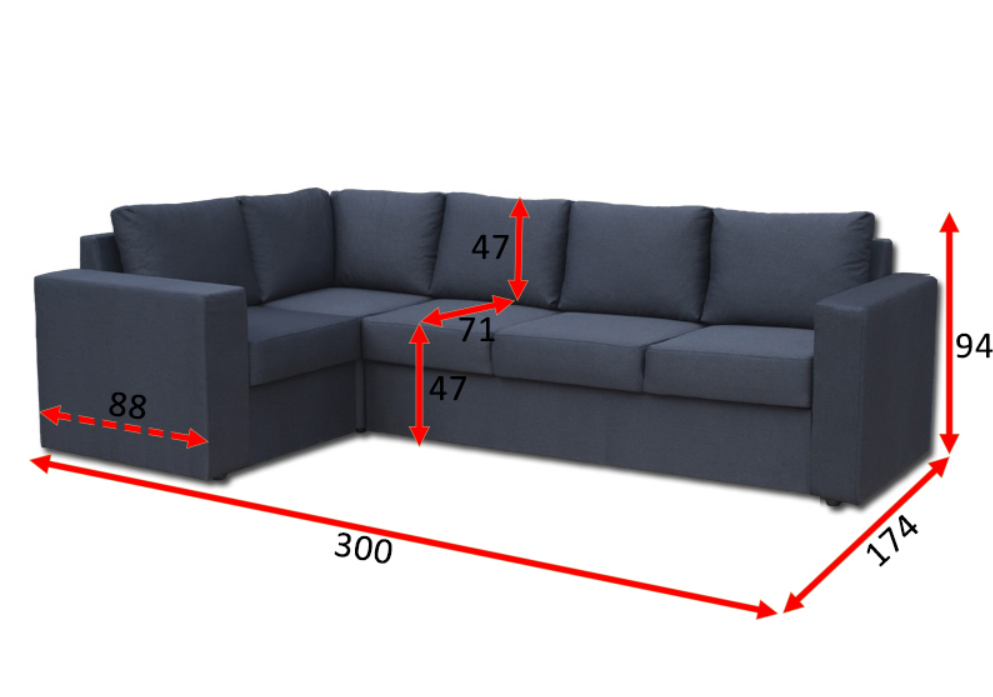 Угловой диван Чикаго 31-А 3