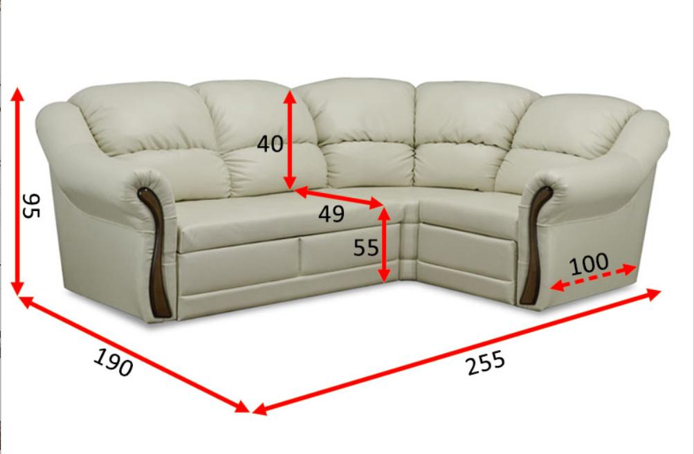 Угловой диван Редфорд 21 2