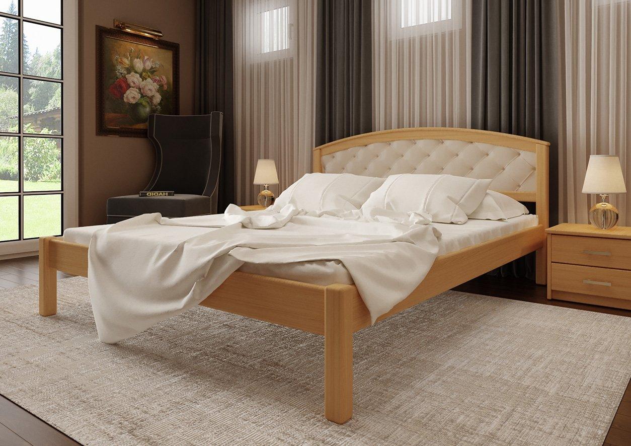 Кровать Британия + Мягкая вставка 1