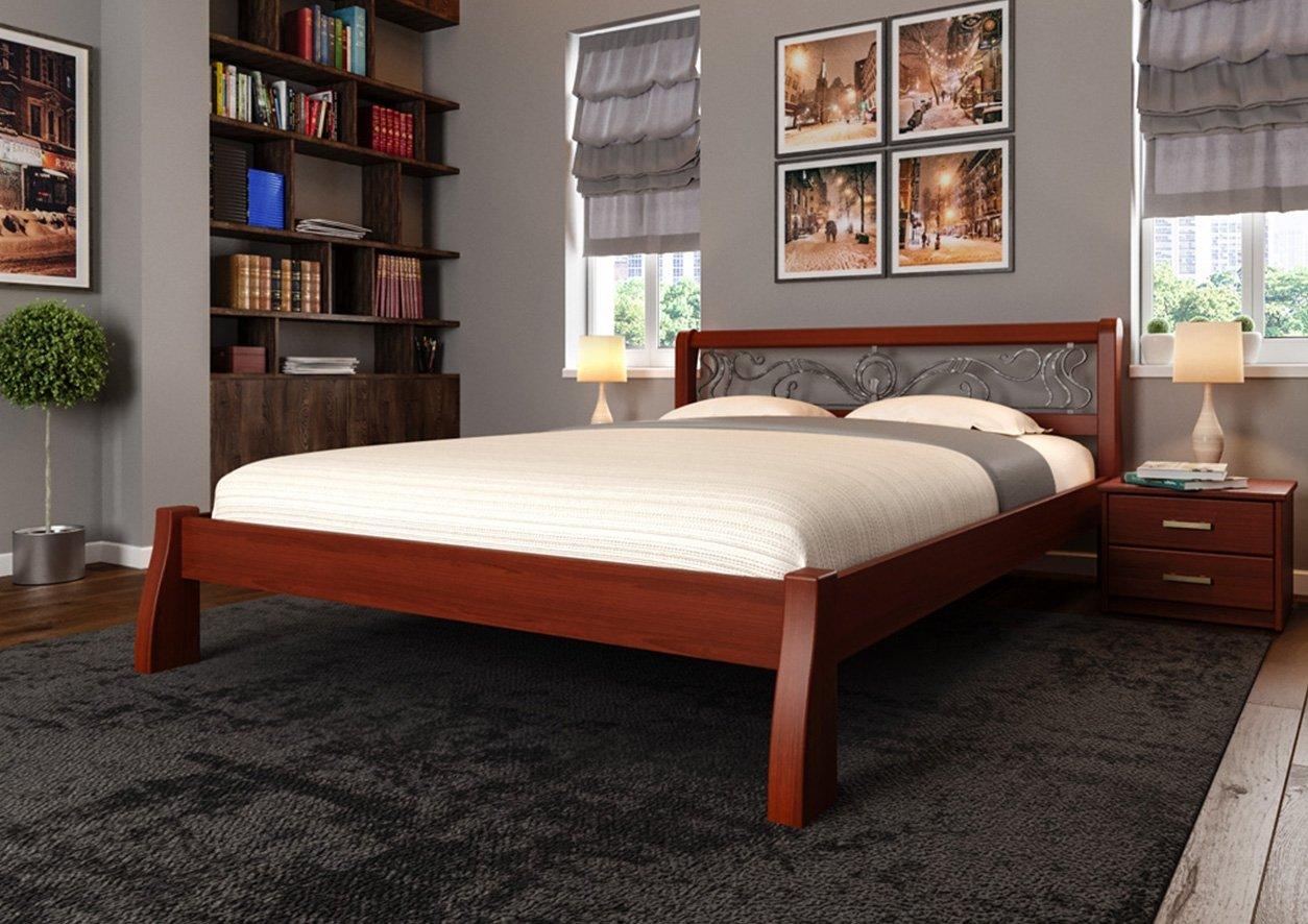 Кровать Ретро + Ковка 1