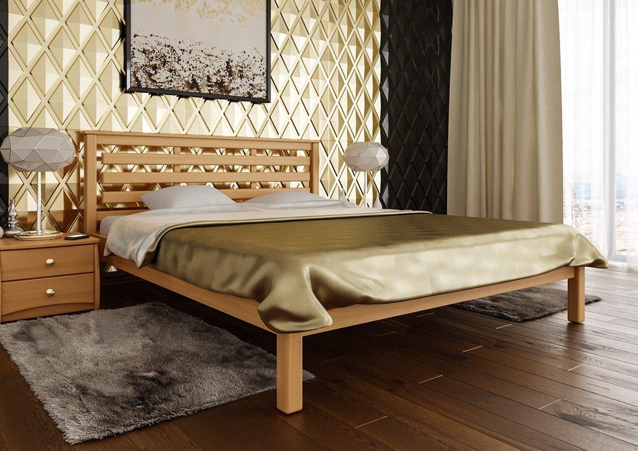 Кровать Модерн (твердая спинка) 5