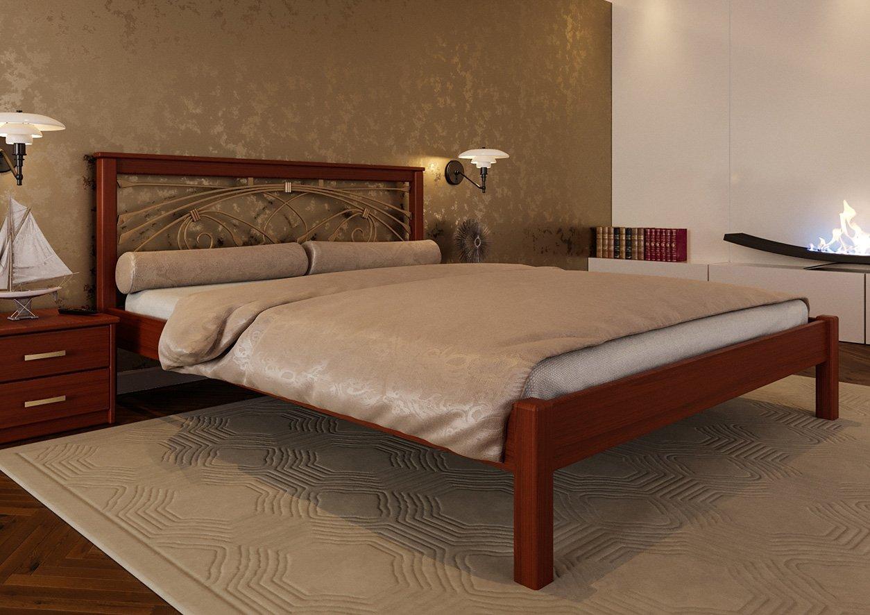 Кровать Модерн + Ковка 5