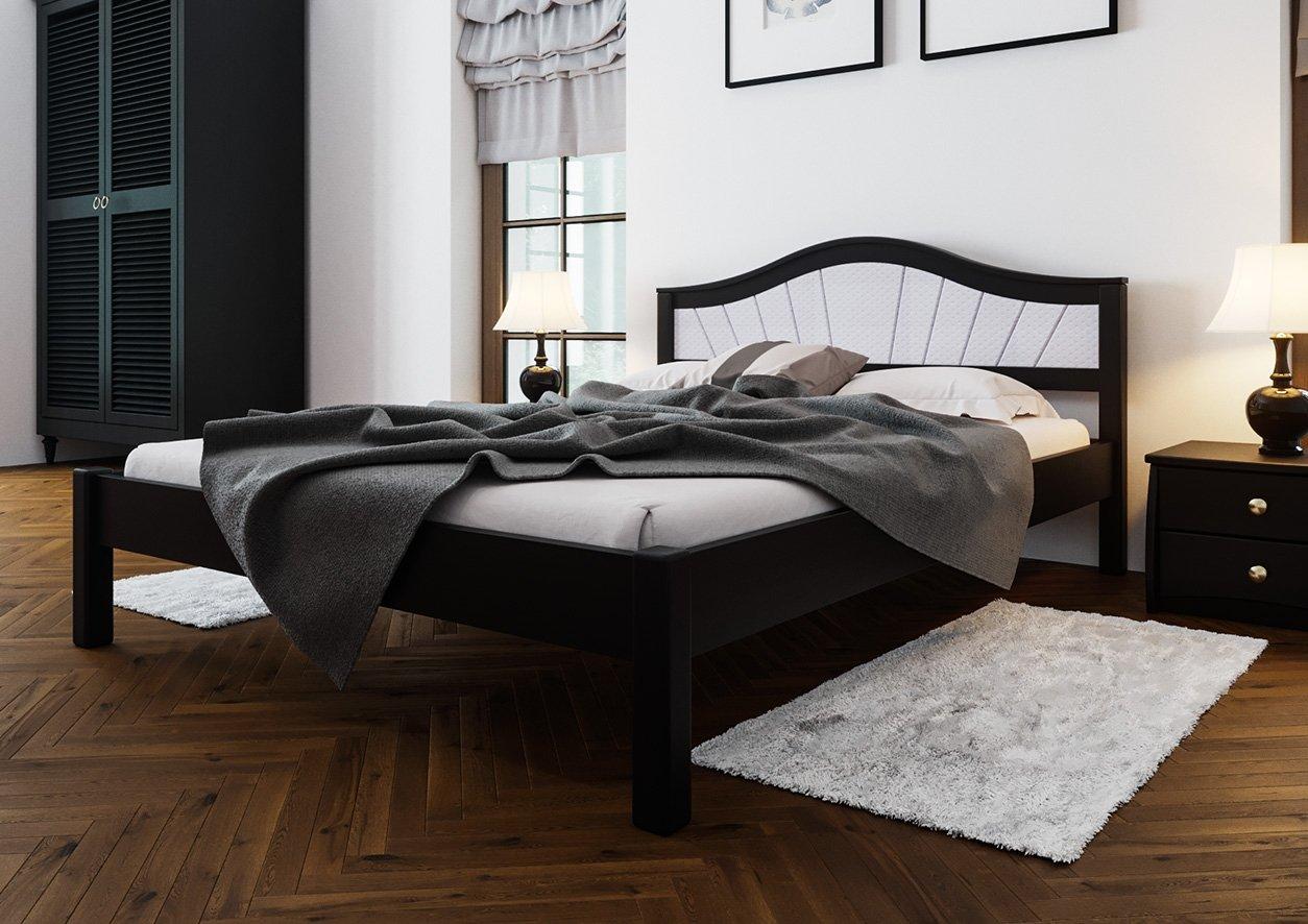 Ліжко Італія + М'яка вставка 1