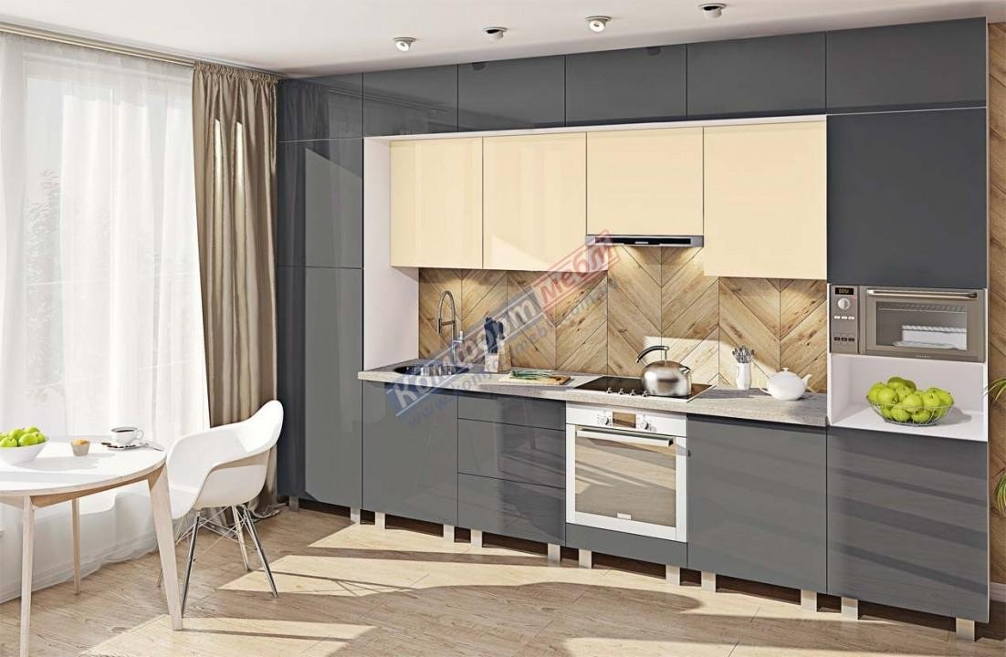 Модульна кухня Фарбований високий глянець  10