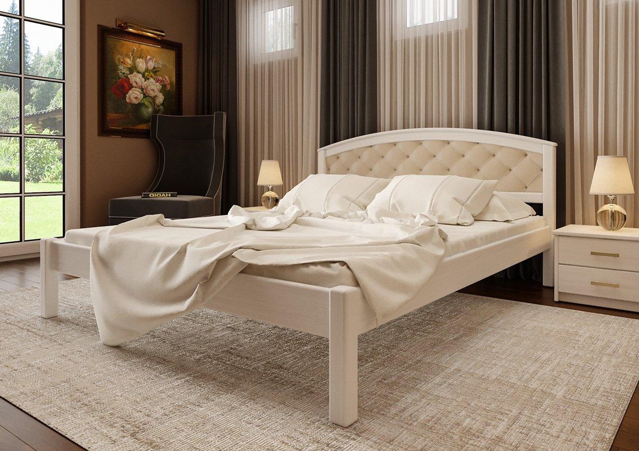 Кровать Британия + Мягкая вставка 3