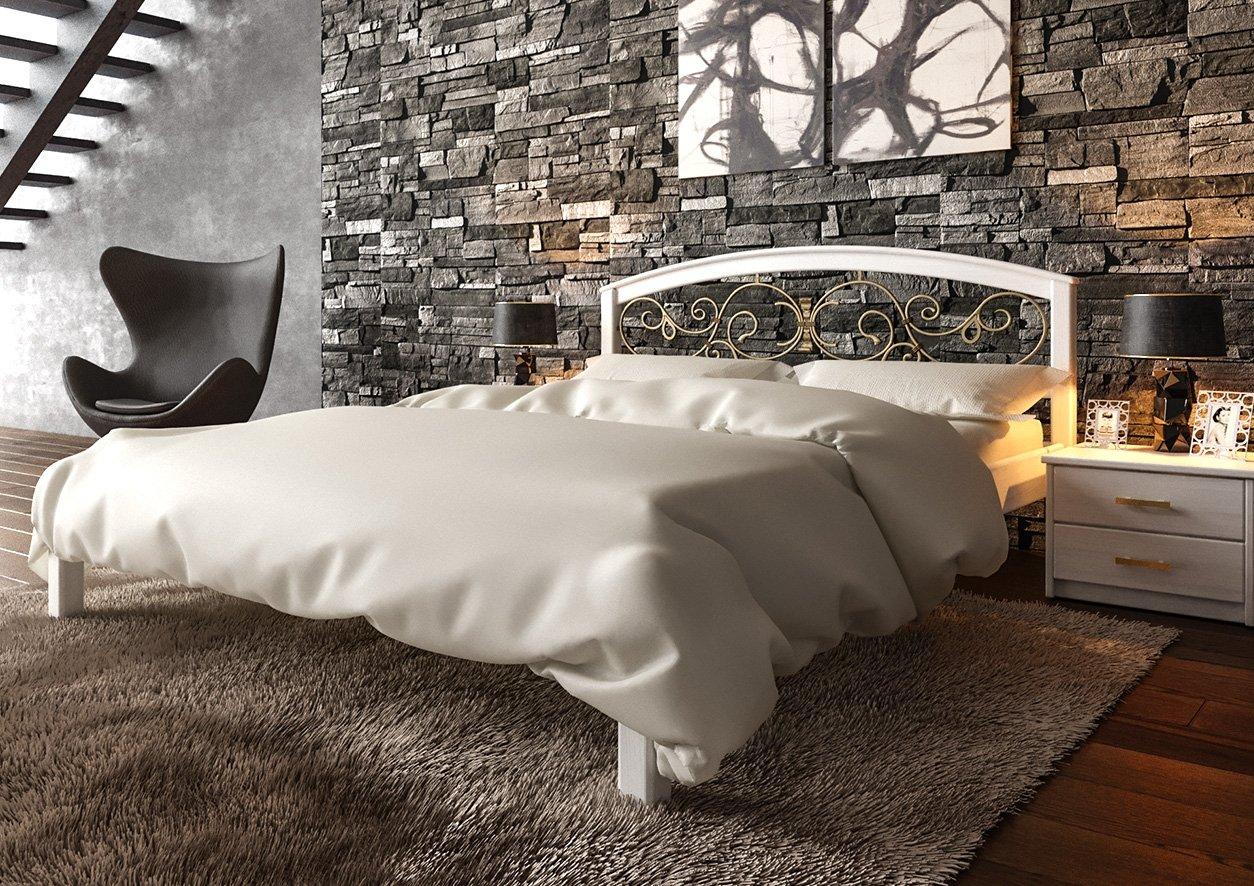 Ліжко Британія + Ковка 2